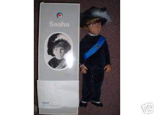 sasha doll prince gregor made in Stockport